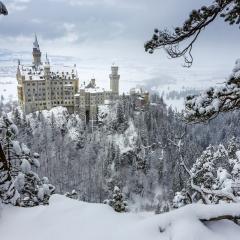 Le mythique château de Neuschwanstein, DE