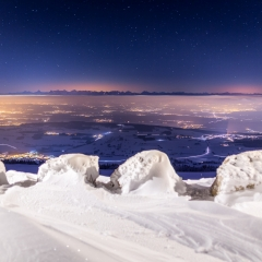 Une nuit au Chasseral, BE