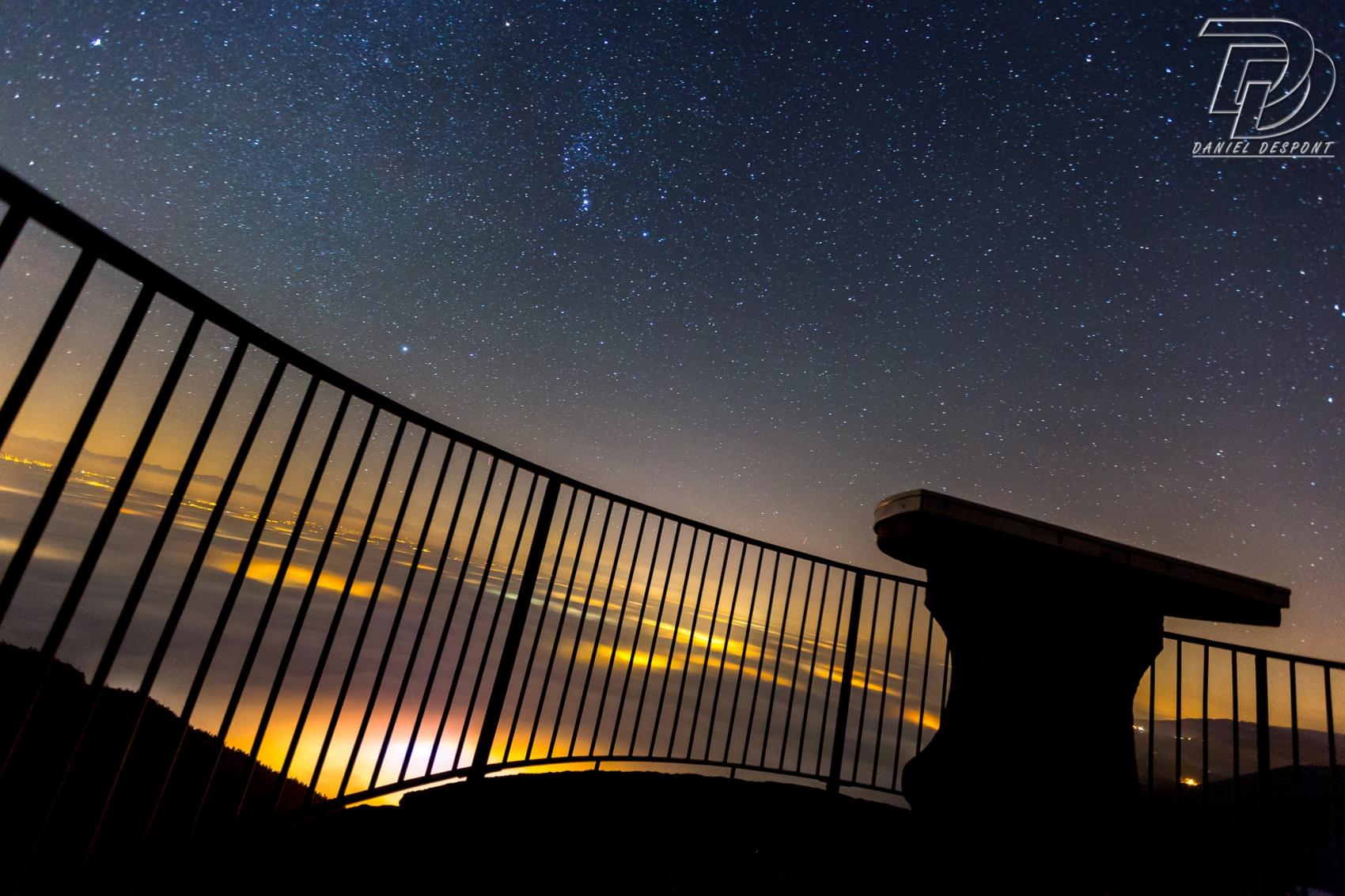 Les étoiles du mont de Baulmes, VD