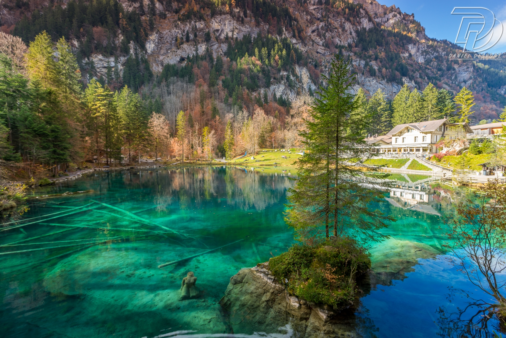 Le mythique Blausee, BE